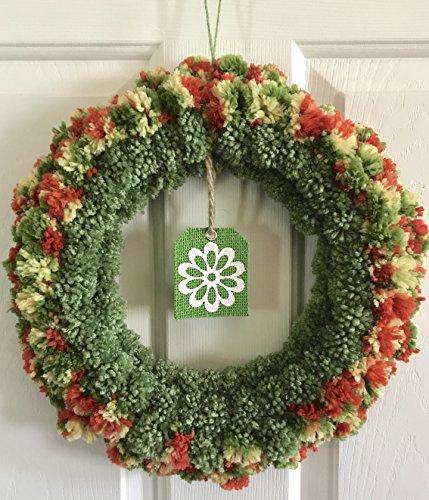 Yarn Wreath - 6