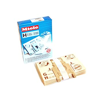 Amazon.com: Genuine Miele Aspirador H bolsas de polvo (Pack ...