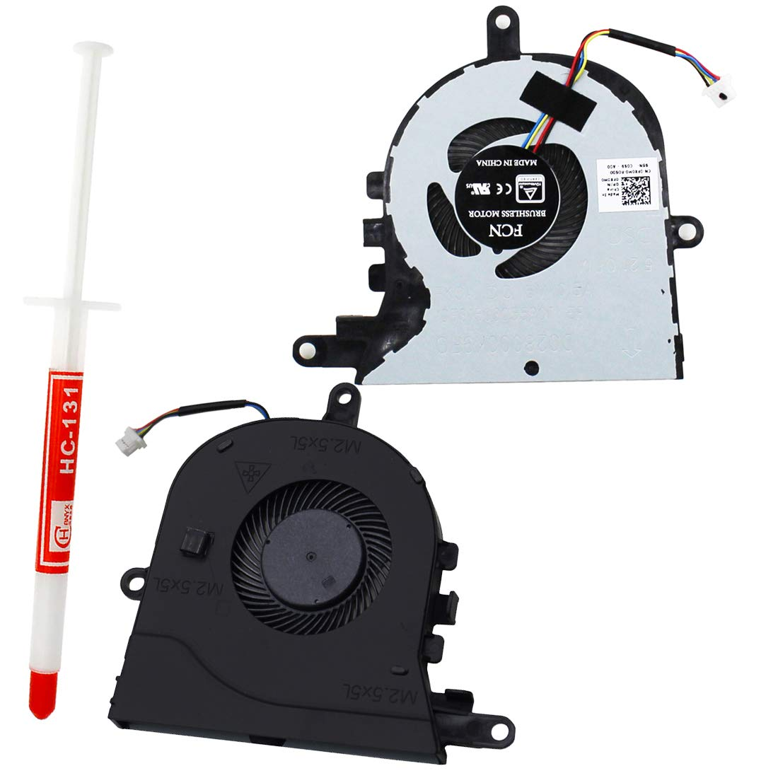 S-Union New Replacement CPU Cooling Fan for Dell Latitude 3590 E3590 Inspiron 15 5570 5575 Series