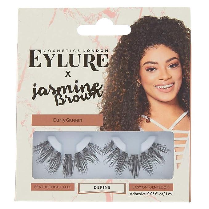 fcb59514f54 Amazon.com: Icing Women's Eylure By Jasmine Brown Define False Eyelashes:  Icing: Clothing