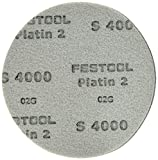 Festool 492372 S4000 Grit, Platin 2 Abrasives, Pack of 15