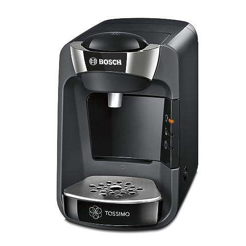 Bosch Tassimo Suny TAS3202 Cafetera multibebidas automática de cápsulas con sistema SmartStart color negro intenso