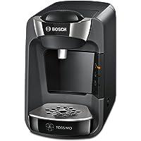Bosch TAS3202 Tassimo Suny - Cafetera multibebidas automática de cápsulas con sistema SmartStart, color negro intenso