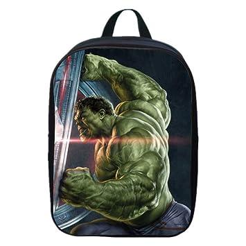 JKAINI Mochila Escolar De Iron Man para Niños, Mochilas Escolares para Niños De 2 A 6 Años,Hulk(B)-30 * 22 * 8cm: Amazon.es: Hogar