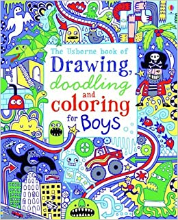 The Usborne Book of Drawing, Doodling and Coloring for Boys: James ...