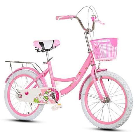 JBHURF Bicicletas Plegables para niños para niños y niñas ...