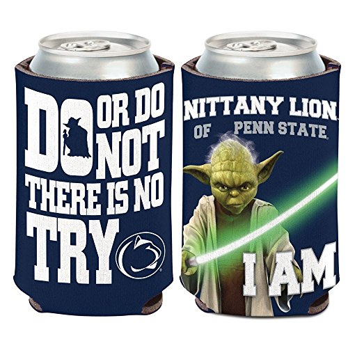 (Wincraft Penn State Nittany Lions Star Wars Yoda Can Coozie - Qty 1)