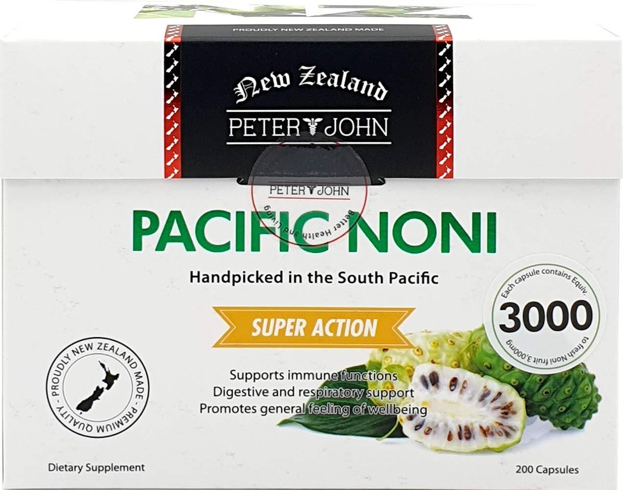 Peter&John Pacific Noni 100% Noni Fruit Powder Herbal-Supplements (1 Pack)