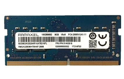 Ramaxel 8GB PC4-21300 DDR4-2666MHz 260-Pin SoDimm 1 2V: Amazon in