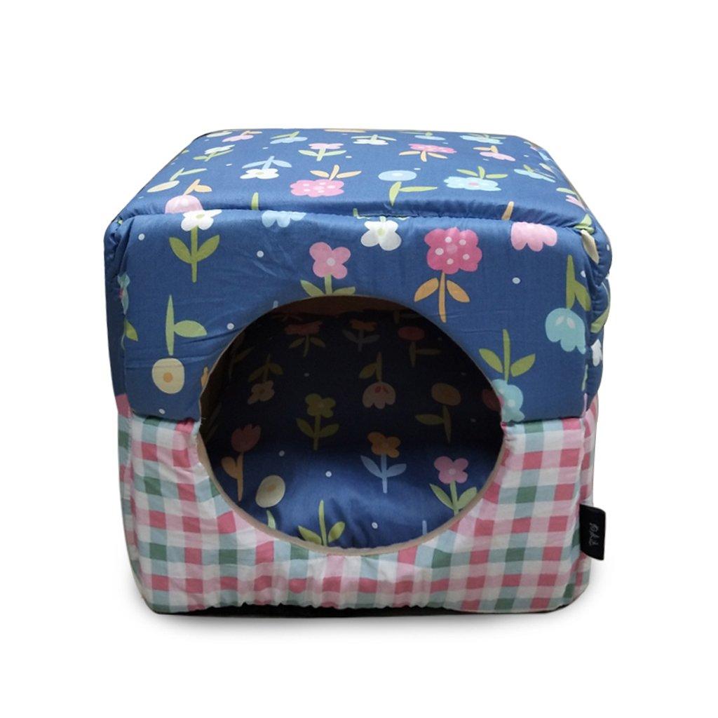 2  JiuErDP Cat Kennel House Sofa Pet Nest Detachable Teddy Bear Pet Four Seasons Universal (color   2 )