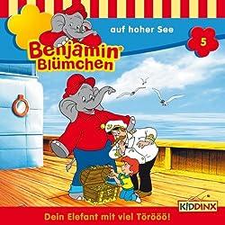 Benjamin auf hoher See (Benjamin Blümchen 5)