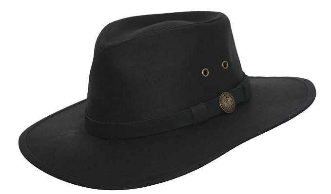 2e9f3c167ce4d Outback Trading Australian Oilskin Hat at Amazon Men s Clothing store