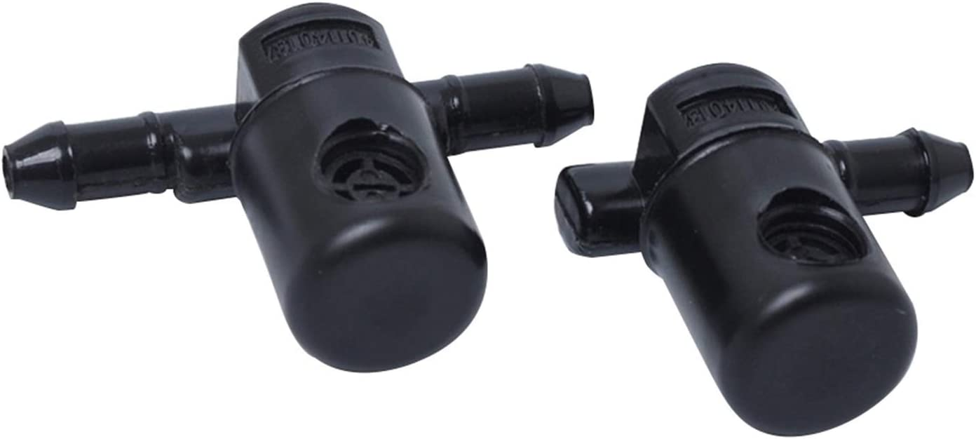 Wiper nozzle 2pcs Front Windscreen Wiper Water Washer Jet Nozzle For Buick Regal 5 Opel Insignia A Astra J 2009 2010 2011 2012 2013