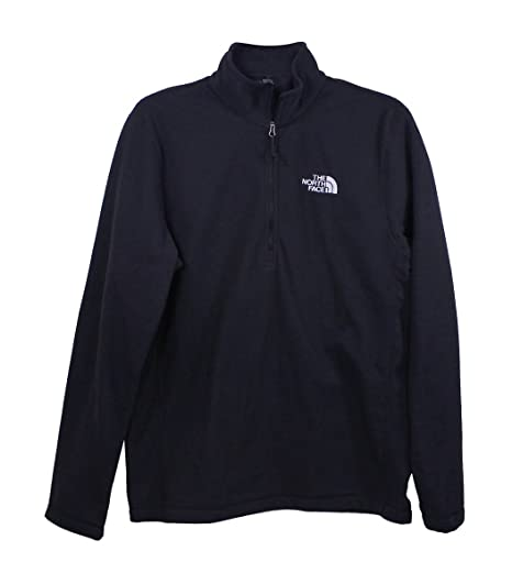9833d7824 The North Face Mens TNF Black Glacier 1/4 Zip Jacket