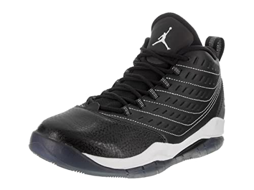 759e5886094 Nike Jordan Kids Jordan Velocity Bg Black White White Basketball Shoe 5.5  Kids US  Amazon.ca  Shoes   Handbags