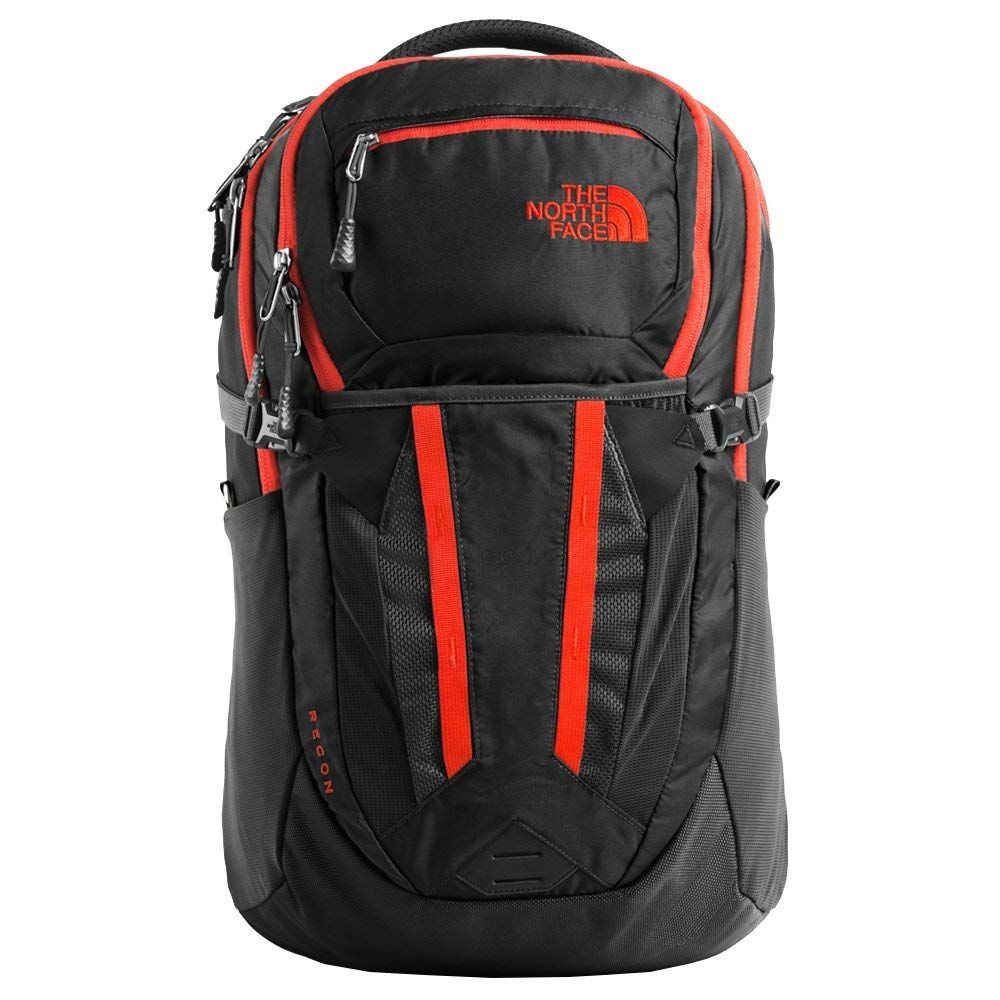 3360ea78ef1 The North Face Recon, Asphalt Grey/Fiery Red, OS: Amazon.co.uk: Luggage