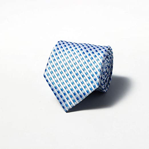 Hjyi Corbata de Vestir para Hombre, Corbata de Seda de poliéster ...