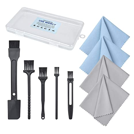 Amazon.com: Zivvo 9 en 1 Cepillo de limpieza y paño de ...