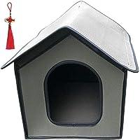 Kattenhuis voor buiten, winterbestendig, outdoor kattenhol voor katten, huisdieren, outdoor, waterdicht, weerbestendig…