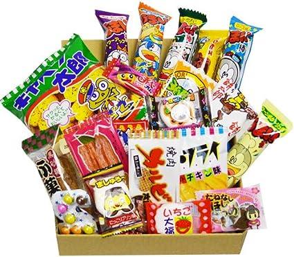 Caja japonesa de Dagashi del caramelo 20pcs Umaibo Snack Gumi de la patata Chip Kitty chocolate con la etiqueta engomada de AKIBAKING