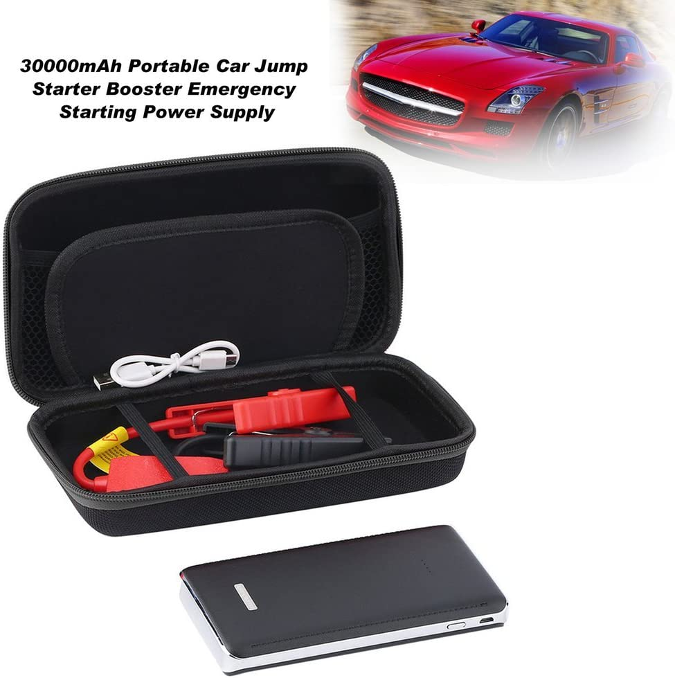 Joycececi 30000mAh Portable Car Jump Starter Booster Emergency Starting Power Supply