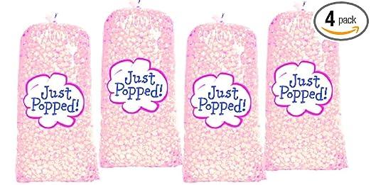 4-Pack Rosa Colored Partido de día festivo palomitas de maíz ...