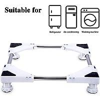 Smonter multi-funzionale mobili base regolabile con 4piedi Strong mobile case roller Dolly per lavatrice, asciugatrice e frigorifero
