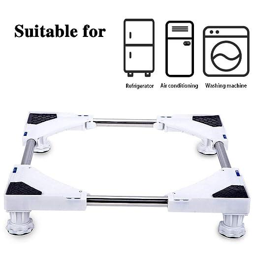 SMONTER - Base móvil para muebles o electrodomésticos, ajustable, con 4 ruedas: Amazon.es: Grandes electrodomésticos