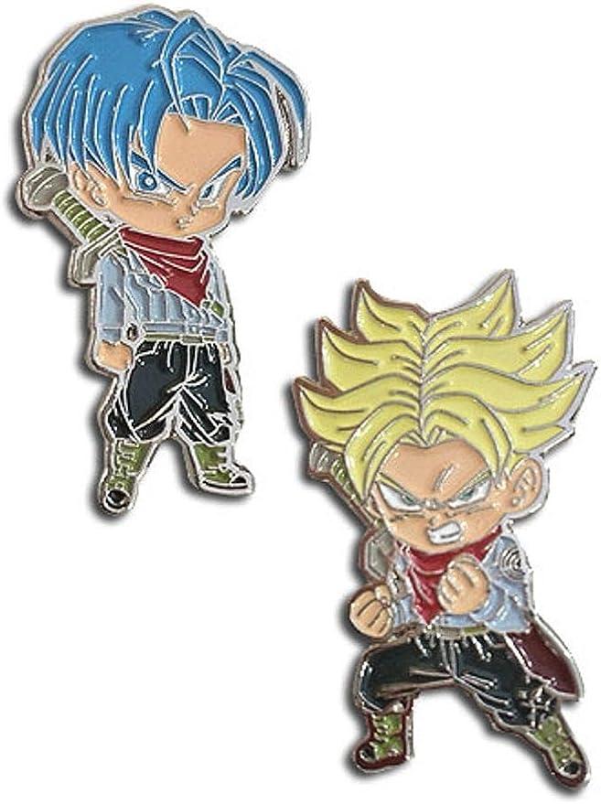 Dragon Ball Super Dbz Pin Set Goku Blue Golden Frieza Lapel Enamel Licensed New