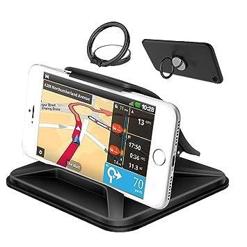 YuCool Soporte de teléfono móvil para coche, antideslizante Pad salpicadero coche, teléfono montaje para