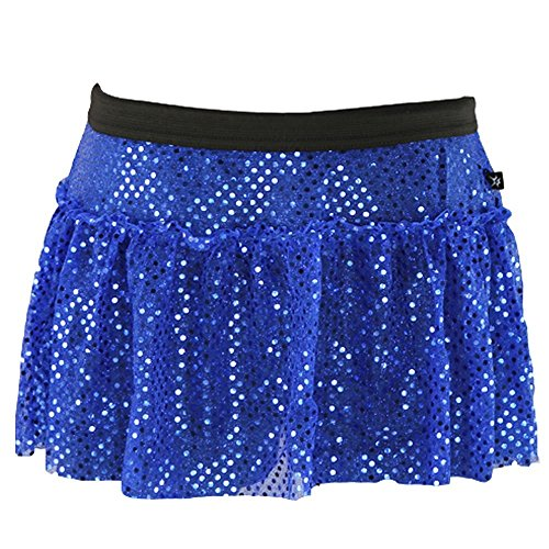 Royal Blue Sparkle Running Skirt - Blue Running