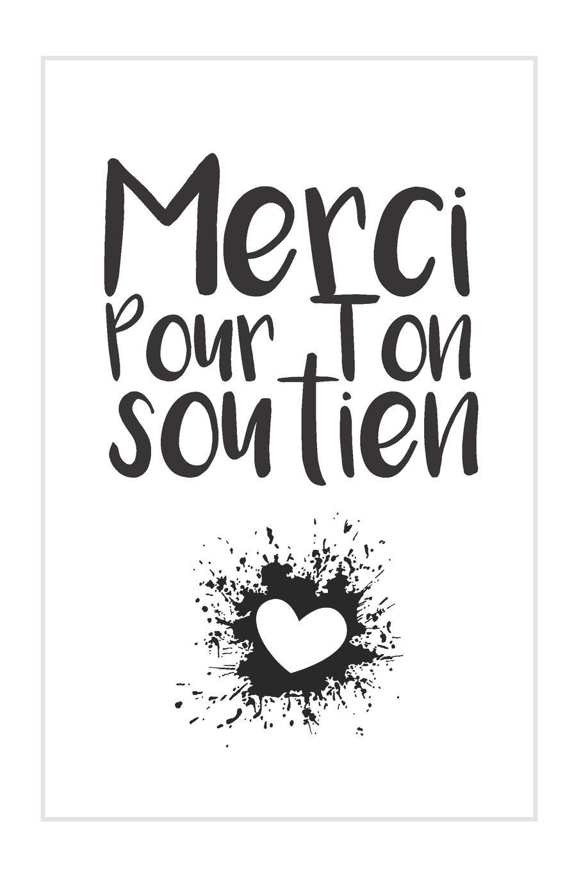 Merci Pour Ton Soutien Carnet De Notes Cadeau Idéal Pour