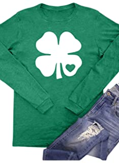 a3ab05ba7 Amazon.com : KINGSBOM Men's Shamrock Funny Irish St Patricks Day T ...