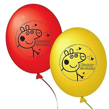 Peppa Pig globos de fiesta (paquete de 10): Amazon.es ...