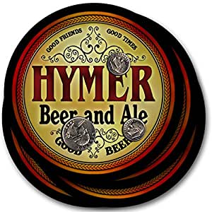 Amazon.com | Hymer Beer & Ale - 4 pack Drink Coasters