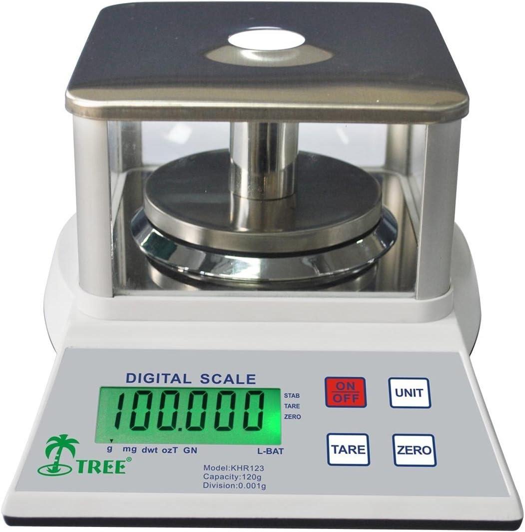 universities 100 g x 0,001 g balance de pr/écision laboratoire /économique bijoux KHR-120-3 /éducation /écoles