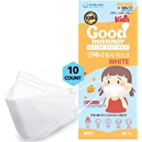 K94 Kids Disposable Face Mask, 10 Pack White, Breathable Mask with Quadruple Filtration System and Skin-Friendly Inner…
