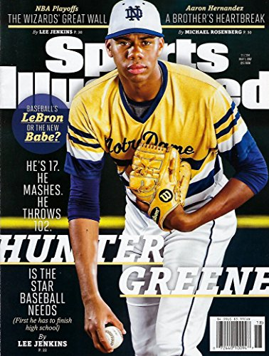 Sports Illustrated May 1, 2017 Hunter Greene Is the Star Baseball Needs.