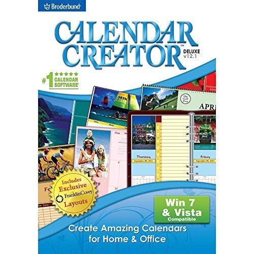 Calendar Creator Deluxe v12.1 [Download] (Program Calendar)