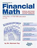Introduction to Financial Mathing Using the HP17B/19B Calculator, Norman E. Toy, 1891112694