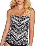 Seafolly Indian Summer Bandini Top C-D Cups, 8C/D, Black