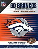 NFL Denver Broncos Activity Book/Blue/Orange/One Size