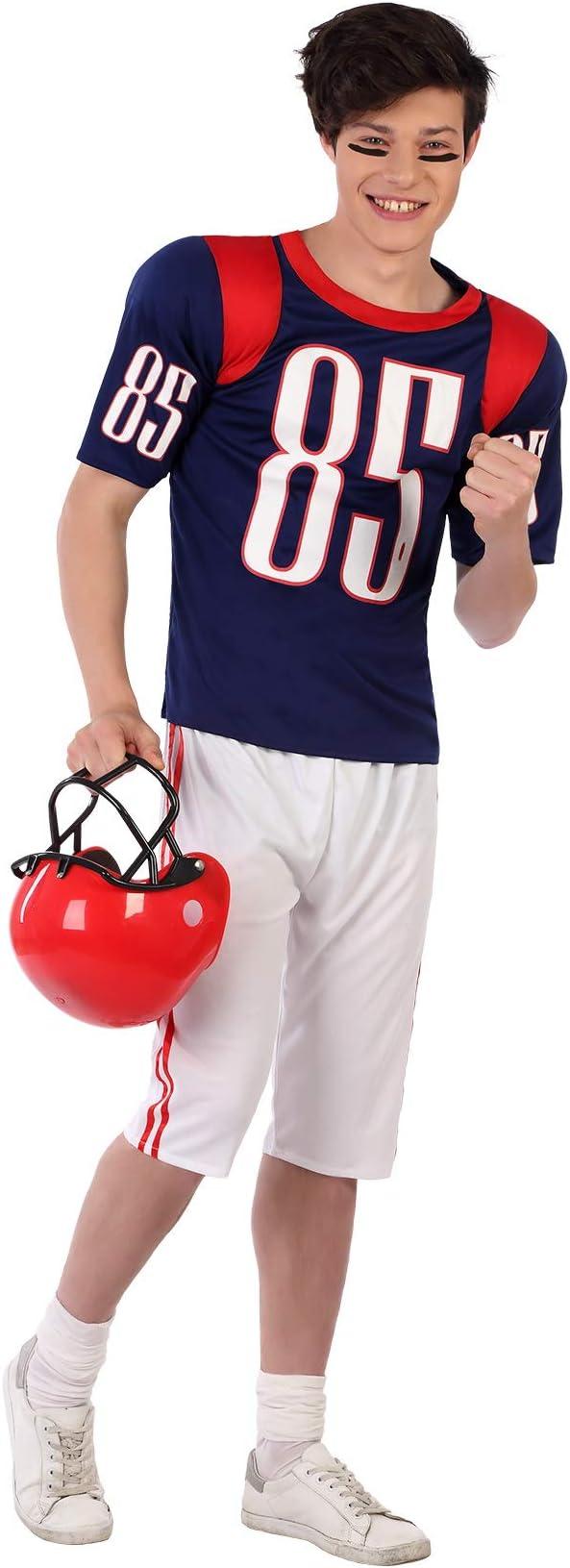Atosa-61599 Atosa-61599-Disfraz Jugador Rugby- ADOLESCENTE- Hombre ...