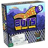 Bouncing Bots Family Board Game - Unique Bounce Challenge to Improve Motor Skills with Fun Toy Plastic Characters for All Ages, Kids, Teens, and Adults 7 Years and Up
