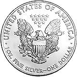 1988-1 Ounce American Silver Eagle Shipping .999