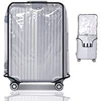"""Travel Luggage Protector Suitcase Covers Luggage Protector Suitcase Cover PVC Bag Dust proof Travel Suitcase (30"""" (21.3""""L x 13.4""""W x 29.5""""H))"""
