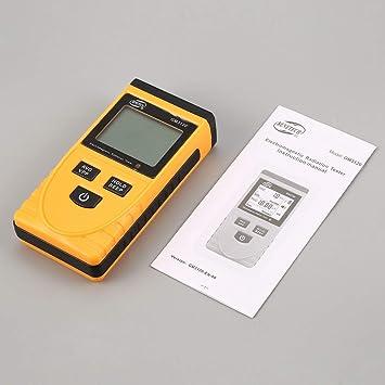 Detector de radiación electromagnética, BENETECH GM3120 LCD Detector de radiación electromagnética Digital Medidor Dosímetro Probador Contador para ...