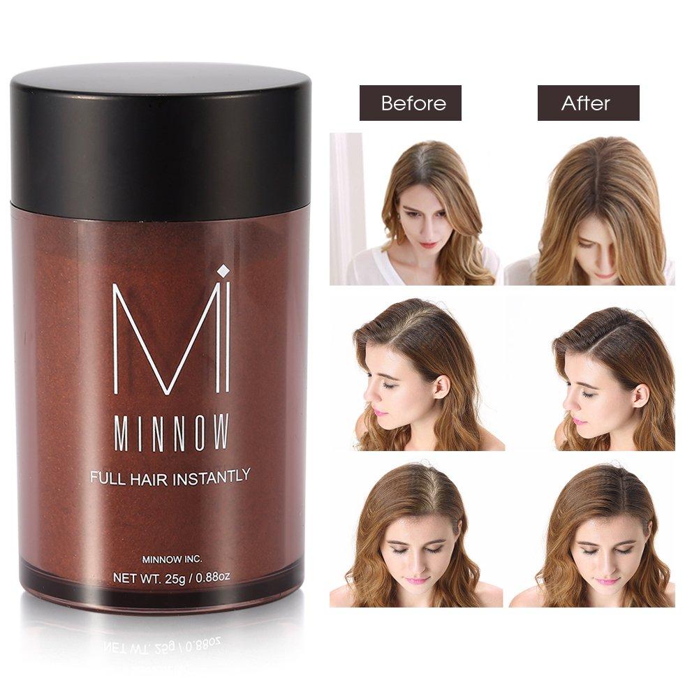 Hair Building Fibers Powder Women Men Baldness Concealer Thickening Fiber(Medium Blonde) Brrnoo