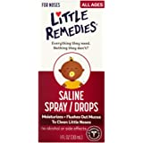 Little Remedies Noses Saline Spray/Drops, 1 Ounce
