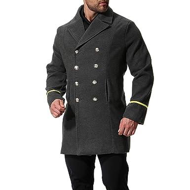Manteau caban militaire femme